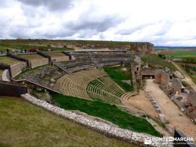 Yacimiento Clunia Sulpicia - Desfiladero de Yecla - Monasterio Santo Domingo de Silos - Teatro, anfi
